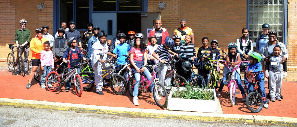MYDC Bicycle Safety Event