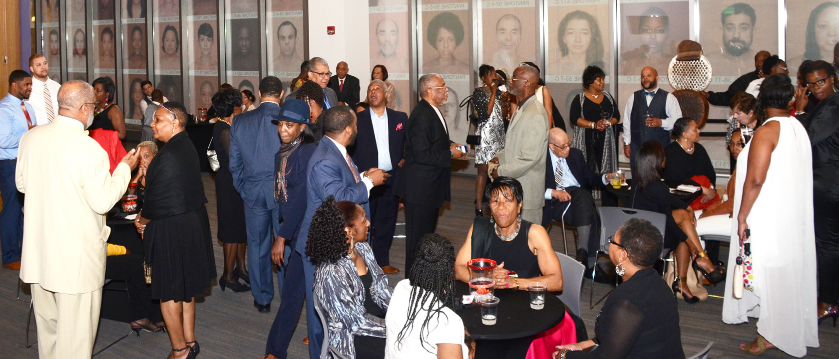 Guests mingling at the MYDC 5th Gala